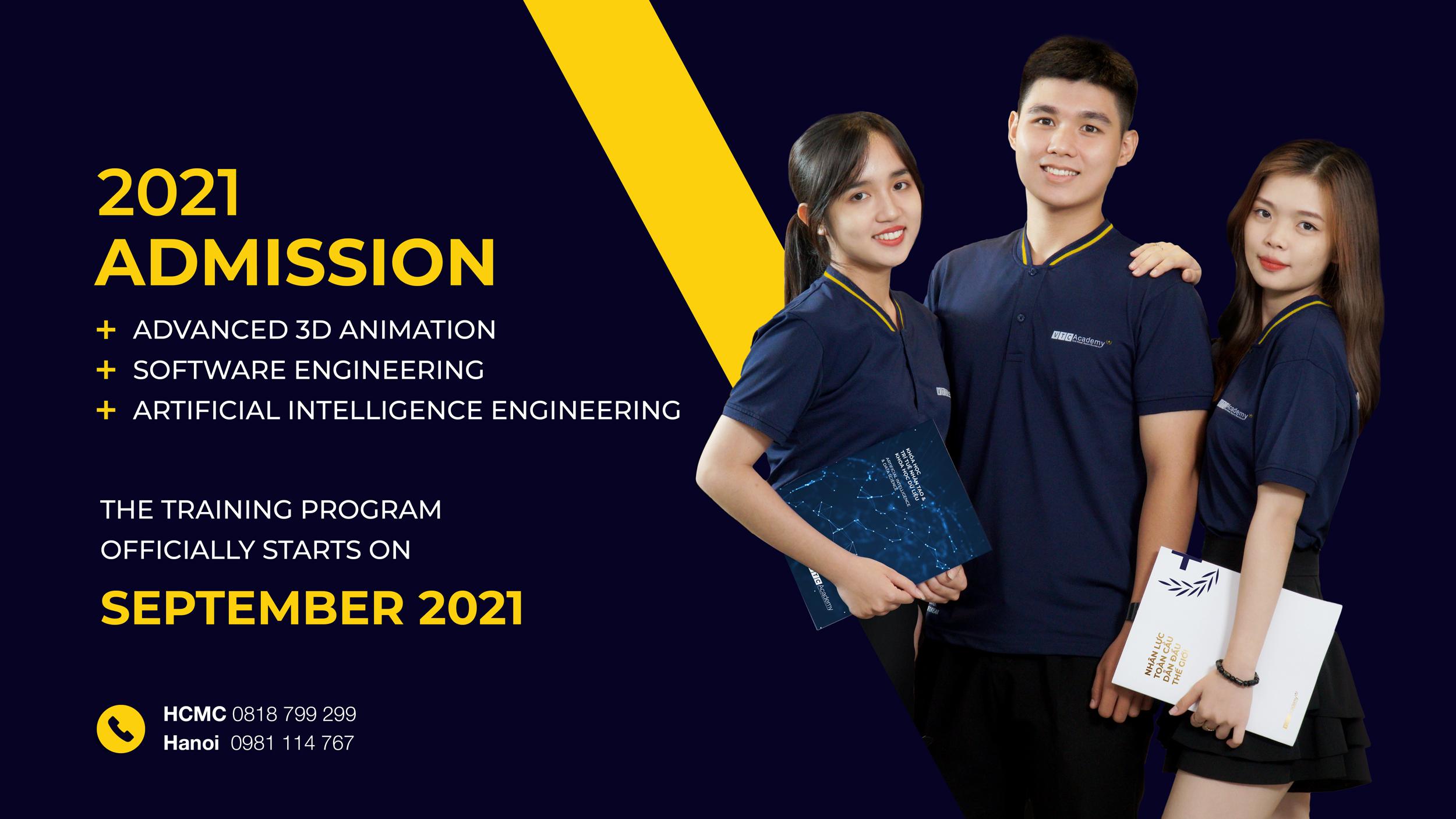 2021 Admission