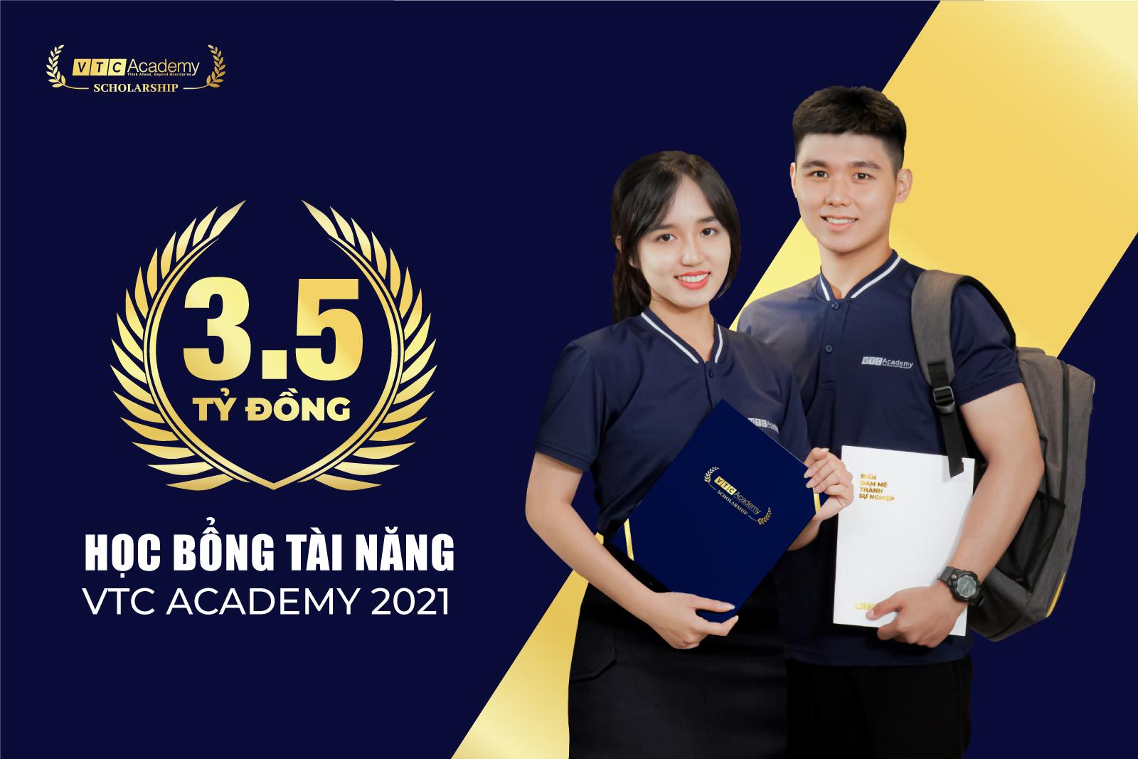 """VTC Academy khởi động chương trình """"Học bổng Tài năng 2021"""" tổng trị giá 3.5 tỷ đồng"""