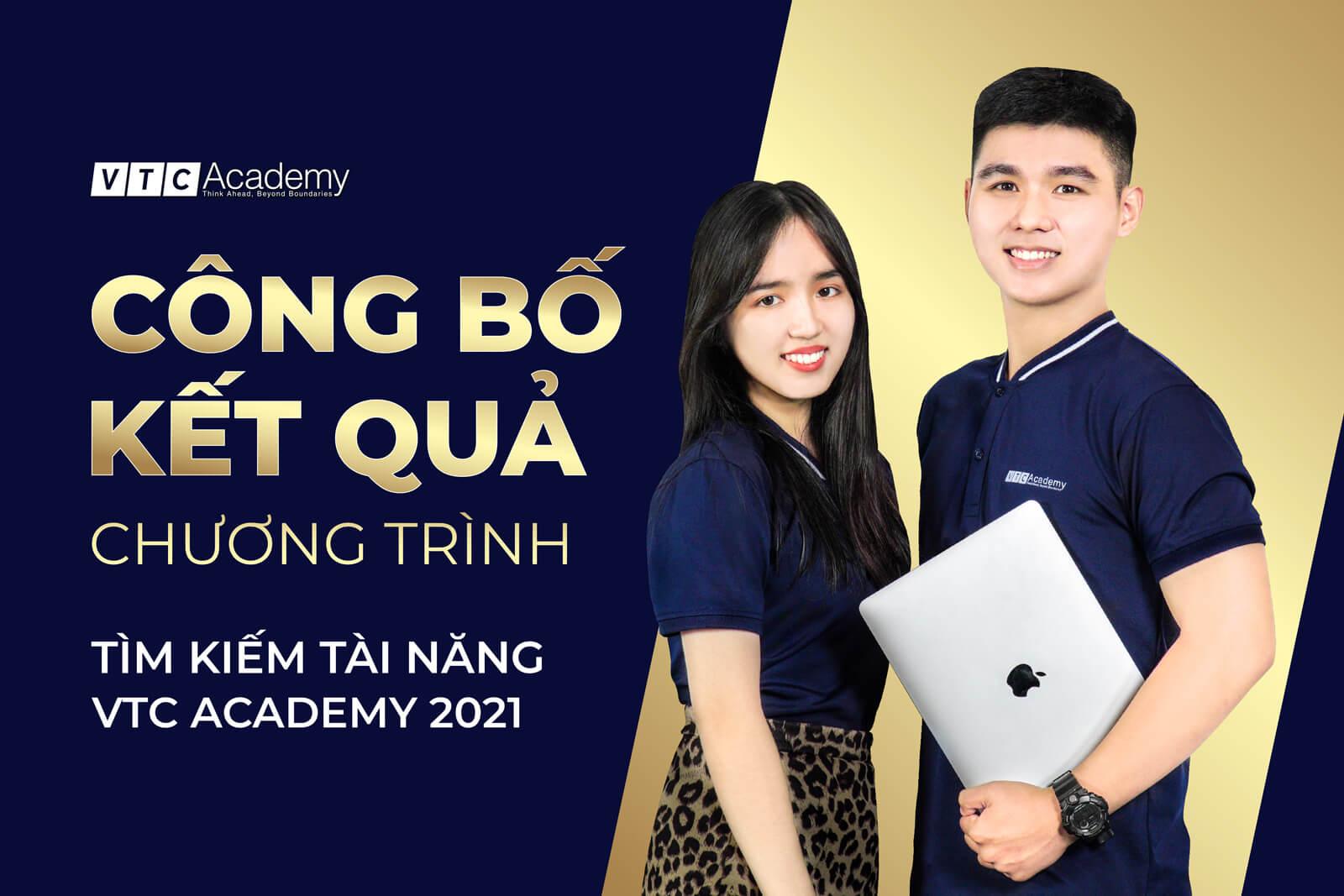 VTC Academy công bố danh sách học viên xuất sắc nhận được Học bổng Tài năng năm 2021